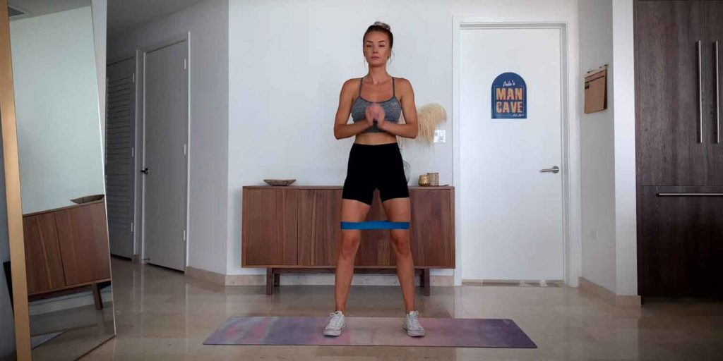 Banded Lateral Walk