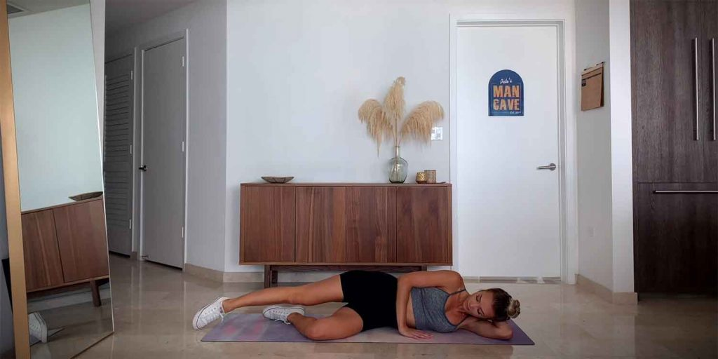 Bodyweight Side-lying Hip Abduction