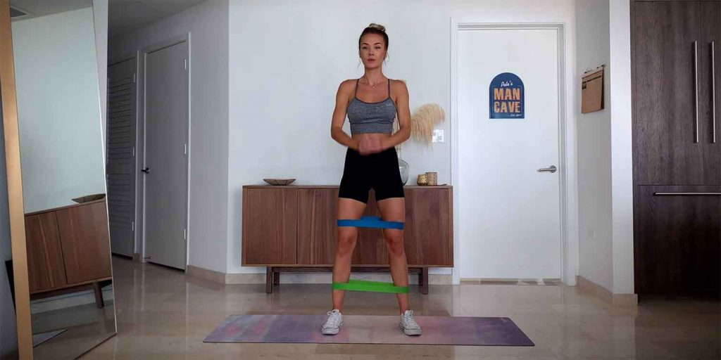 Double Banded Lateral Walk